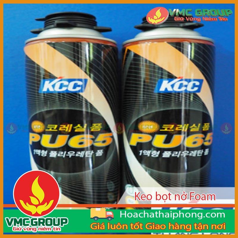 Keo bọt nở Foam chống cháy PU65